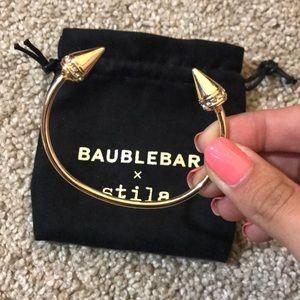 BaubleBar x Stila Gold Cuff